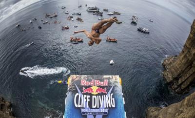 Red Bull Cliff Diving está novamente a chegar aos Açores