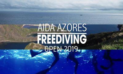 Azores Freediving Open 2019, decorre em São Miguel, nos Açores
