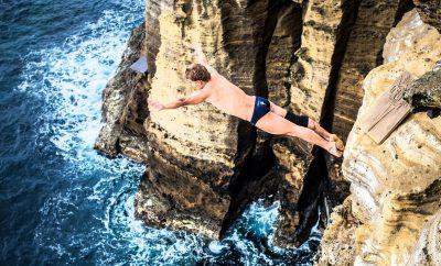 Red Bull Cliff Diving: Craques dos saltos já estão nos Açores